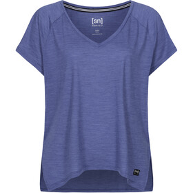 super.natural Jonser T-shirt Femme, coastal fjord melange